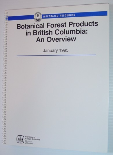 Image for Botanical forest products in British Columbia: An overview, January 1995