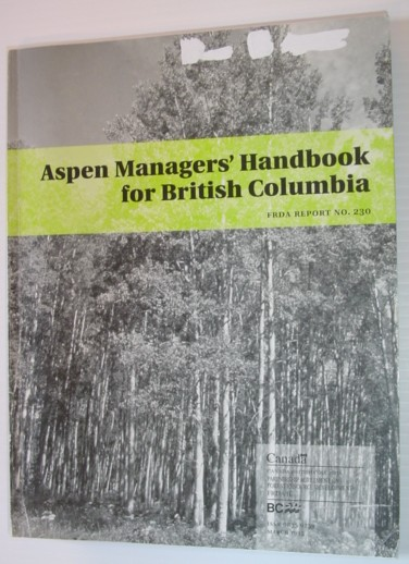 Image for Aspen Manager's Handbook for British Columbia