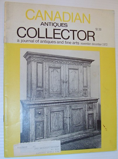 Image for Canadian Antiques Collector Magazine - November/December 1972