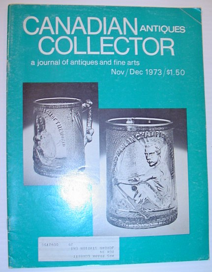 Image for Canadian Antiques Collector Magazine - November/December 1973