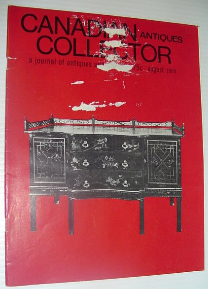 Image for Canadian Antiques Collector - a Journal of Antiques and Fine Arts: August 1969