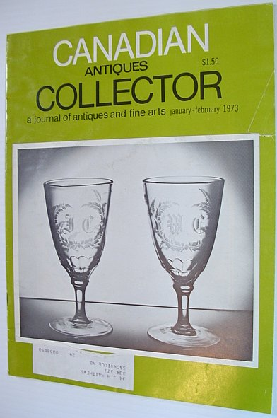 Image for Canadian Antiques Collector - A Journal of Antiques and Fine Arts: January/February 1973, Volume 8, Number 1