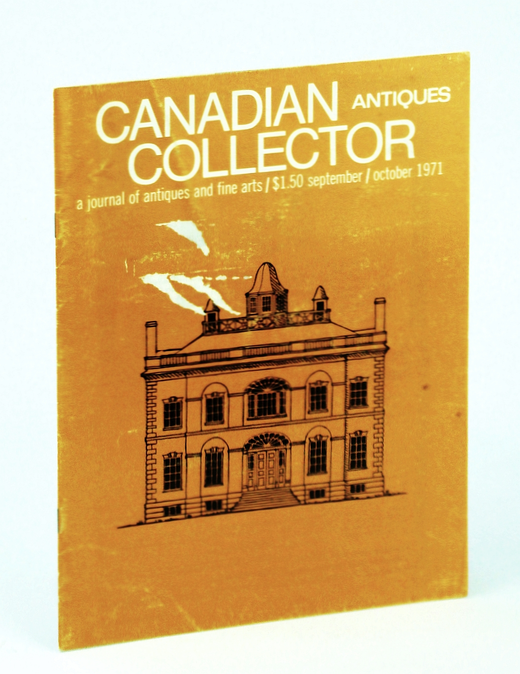 Image for Canadian Antiques Collector Magazine, March 1971