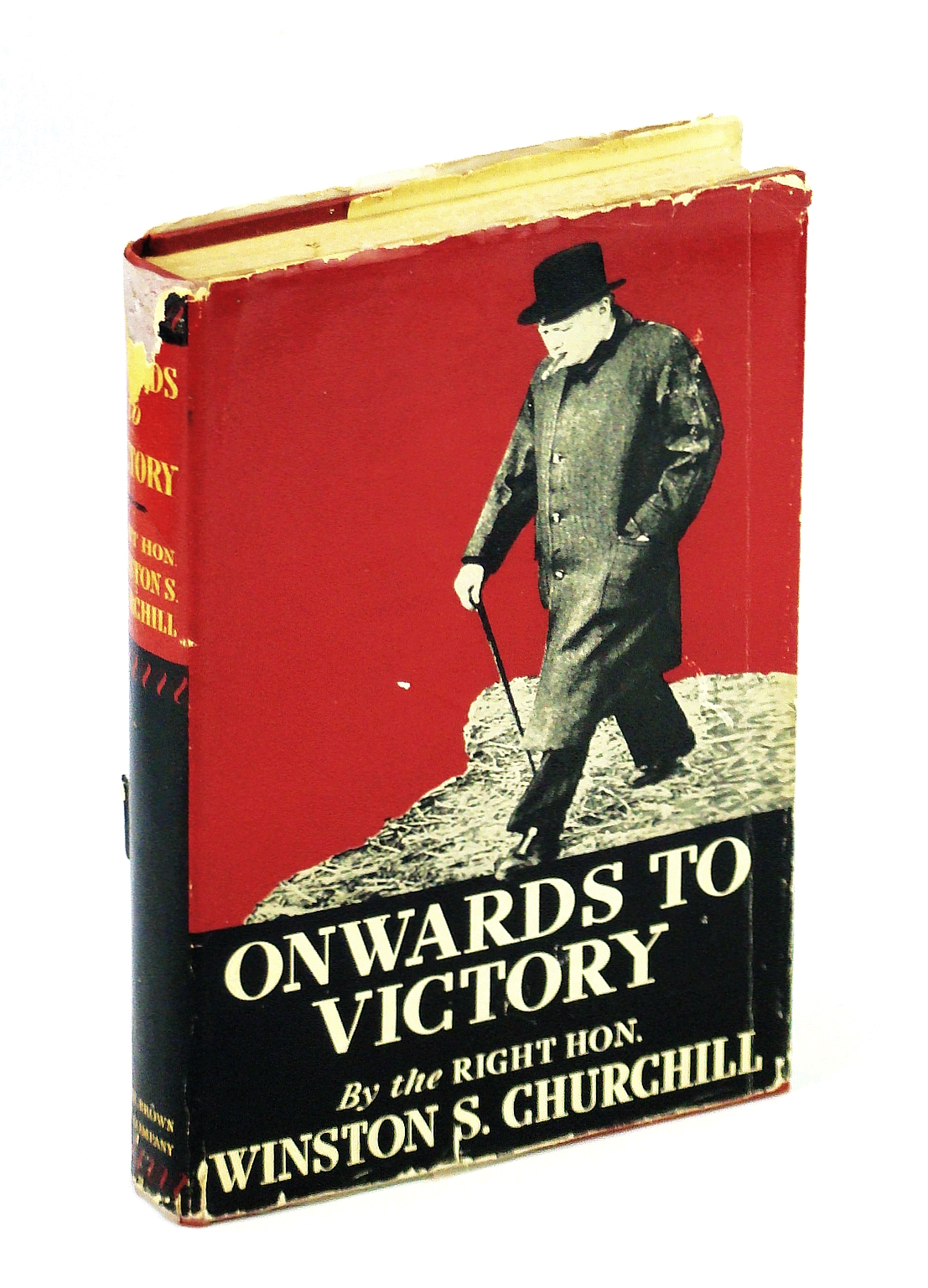 Image for Onwards To Victory War Speeches by the Right Honorable Winston S. Churchill
