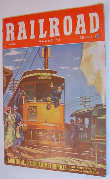 Image for Railroad Magazine - August 1952, Vol. 58, No. 3