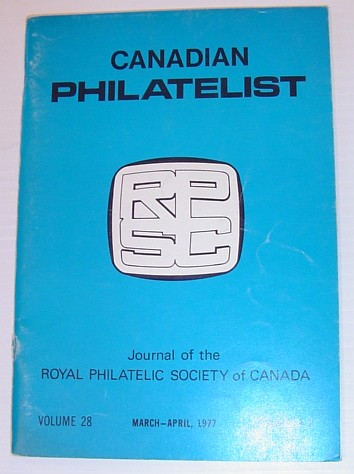 Image for Canadian Philatelist: Volume 28, March - April 1977 Number 2