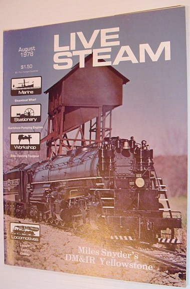 Image for Live Steam Magazine - August 1978, Volume 12, Number 8