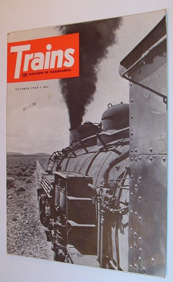 Image for Trains - The Magazine of Railroading: October 1969, Volume 29, Number 12