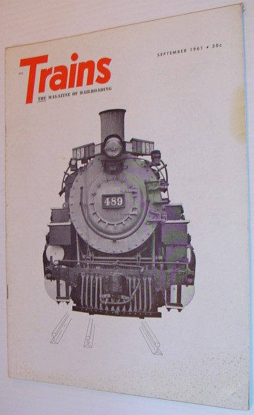 Image for Trains - The magazine of Railroading: September 1961 - Volume 21, Number 11