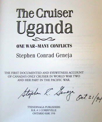 Image for The Cruiser Uganda: One War - Many Conflicts