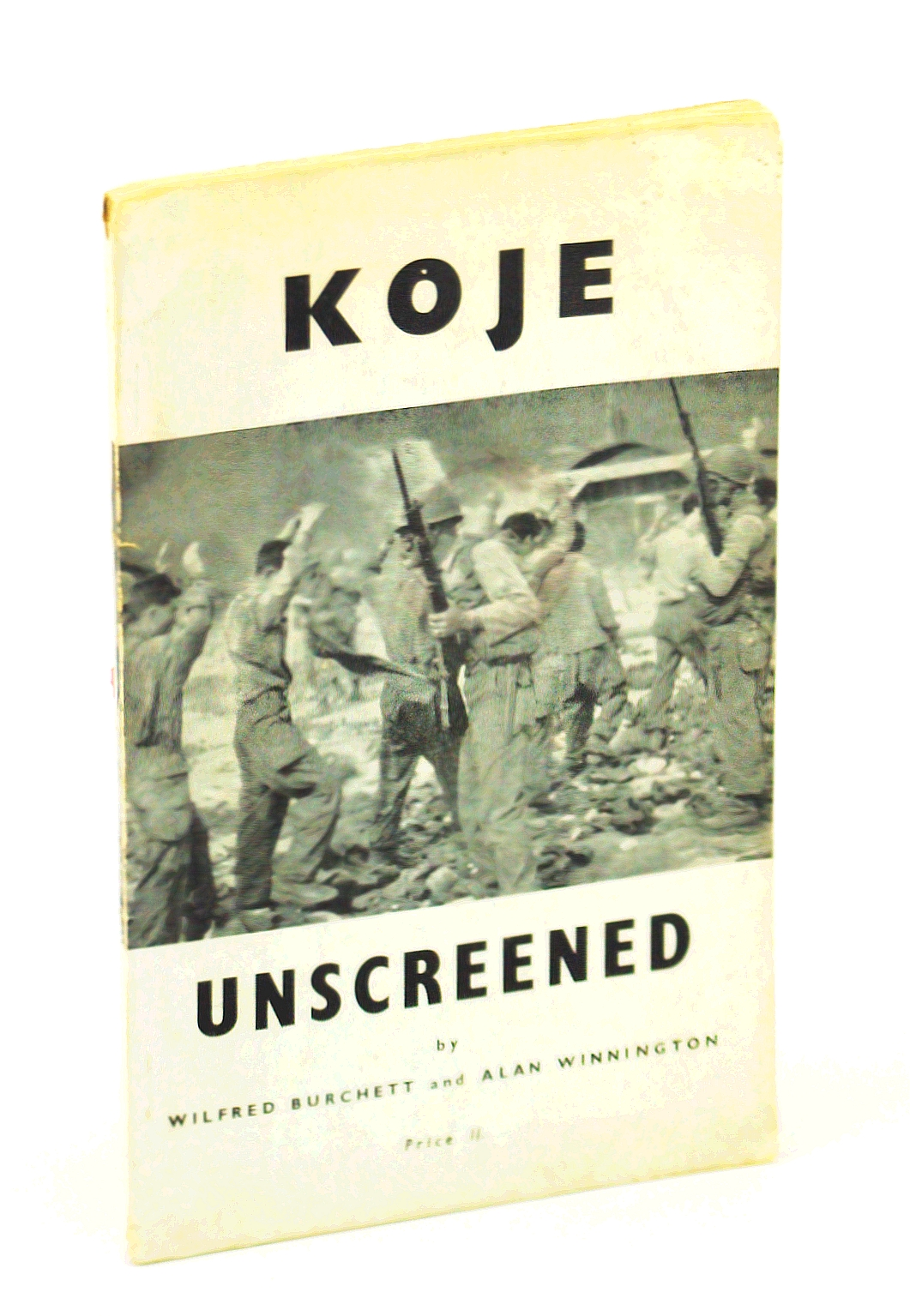 Image for Koje unscreened,