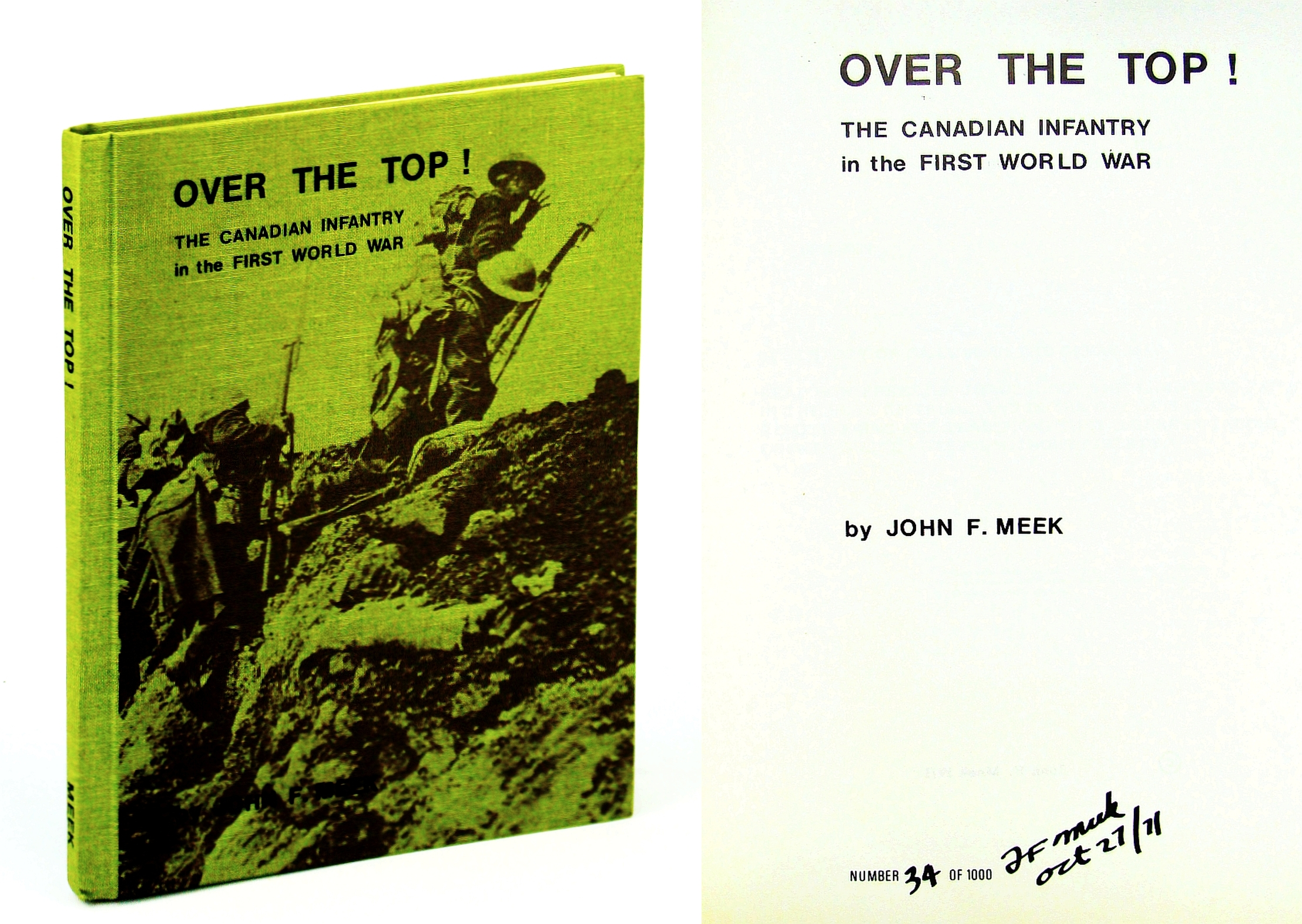 Image for Over the Top!: The Canadian Infantry in the First World War