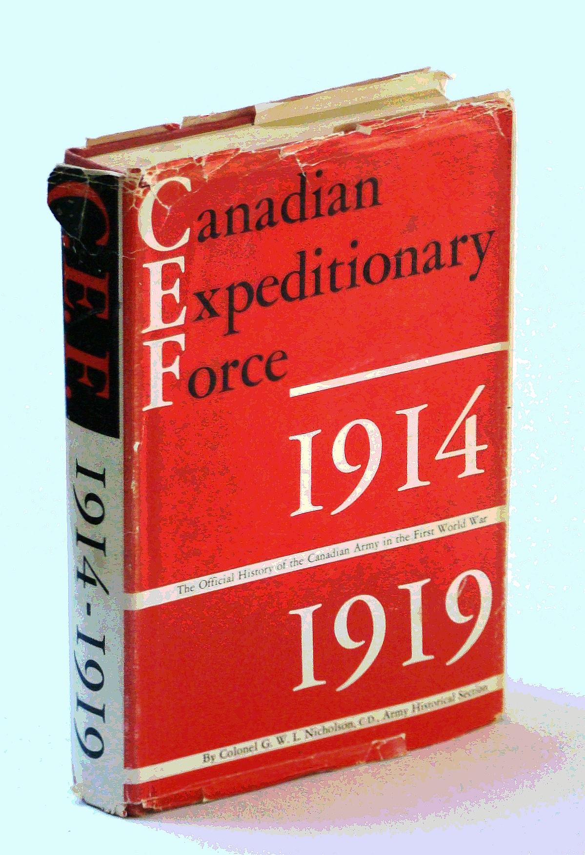 Image for Canadian Expeditionary Force 1914-1919