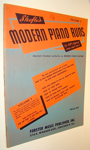 Image for Shefte's Modern Piano Runs - Volume 3 (Three)