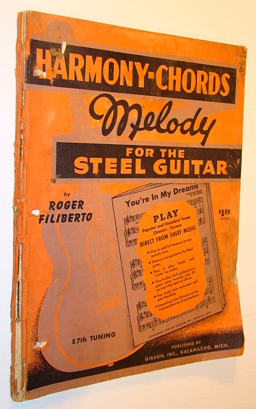 Image for Harmony-Chords, Melody for the Steel Guitar (E7th Tuning)