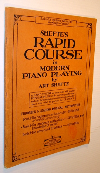 Image for Shefte's Rapid Course in Modern Piano Playing - Book 2 (Two) for Students with a Fair Knowledge of Music