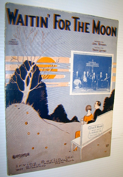 Image for Waitin' (Waiting) For the Moon - Sheet Music for Piano and Voice with Ukulele Chords
