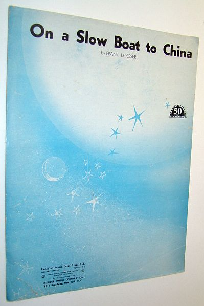 Image for On a Slow Boat to China - Sheet Music for Piano and Voice