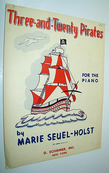 Image for Three-and-Twenty Pirates: Piano Sheet Music