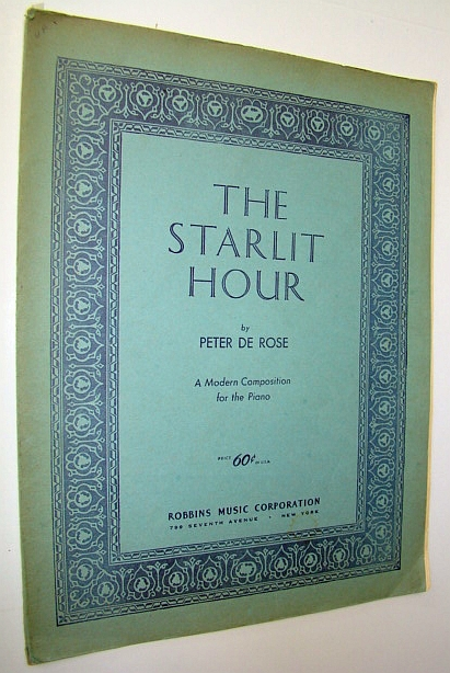 Image for The Starlit Hour - A Modern Composition for Piano - Sheet Music