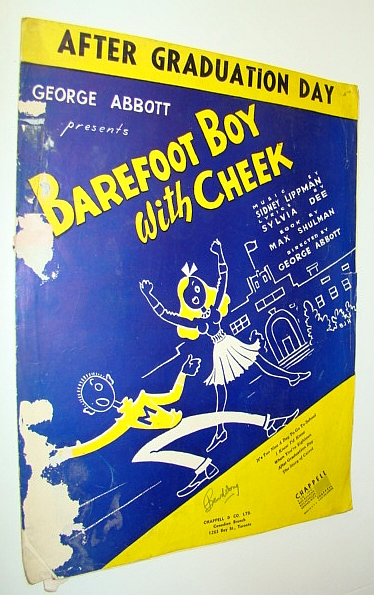 Image for After Graduation Day - Sheet Music for Piano and Voice - From the Movie Barefoot Boy with Cheek