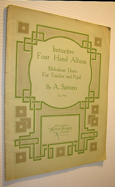 Image for Instructive Four (4) Hand Album: Melodious Duets for Teacher and Pupil, Op. 996