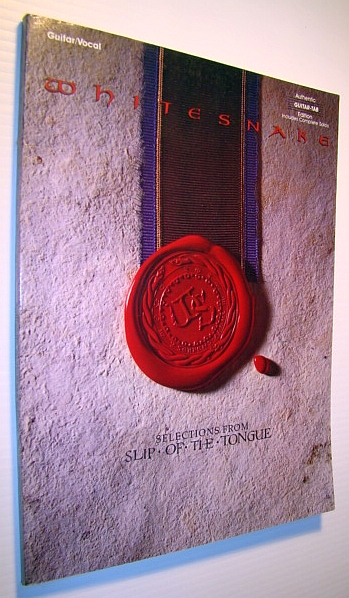 Image for Whitesnake - Selections from Slip of the Tongue: Guitar/Vocal, Authentic Guitar-Tab Edition, Includes Compoete Solos