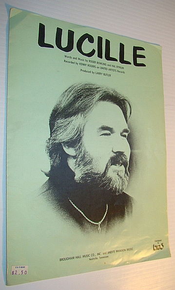 Image for Lucille - as Performed By Kenny Rogers: Sheet Music for Piano and Voice with Guitar Chords