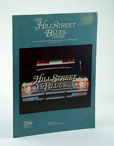 Image for The Hill Street (St.) Blues Theme - Sheet Music for Piano  with Chords Indicated