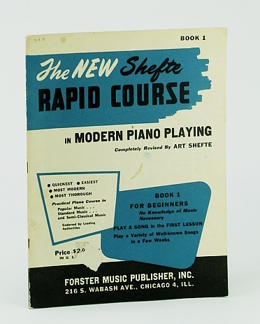 Image for The New Shefte Rapid Course In Modern Piano Playing Book One