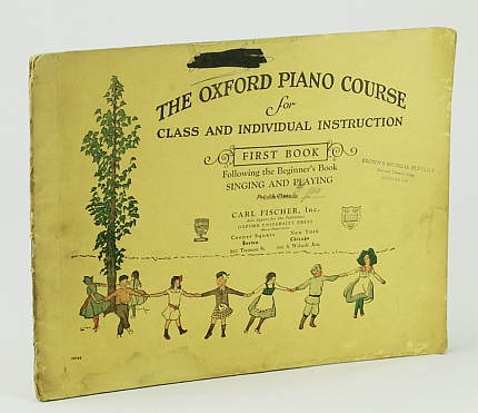 Image for The Oxford Piano Course: for Class and Individual Instruction First Book