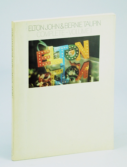 Image for Elton John & Bernie Taupin Complete Volume I [Songbook]