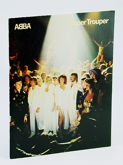 Image for ABBA - Super Trouper: Sheet Music for Piano and Voice with Chords
