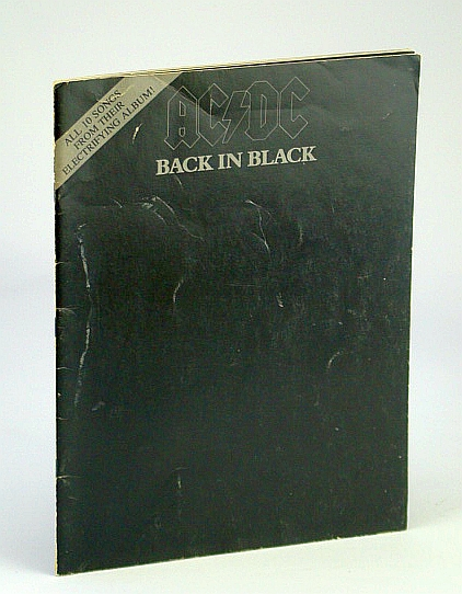 Image for AC/DC back in black folio/songbook-1980