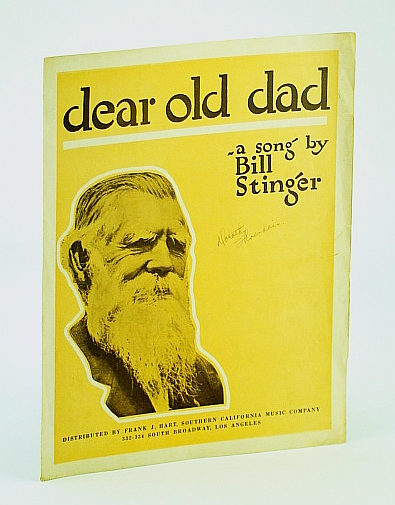 Image for Dear Old Dad: Sheet Music for Voice and Piano