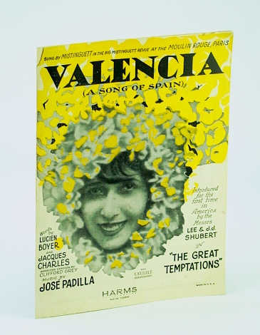 Image for Valencia ( A Song of Spain ) - Vintage Sheet Music