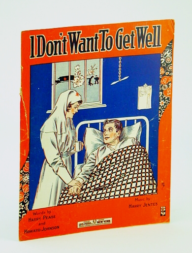 Image for I Don't Want To Get Well [Sheet Music]