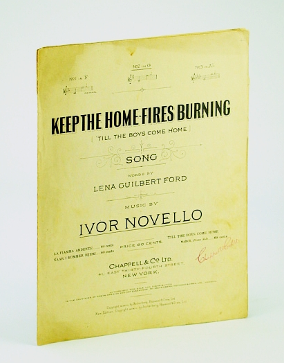 Image for Keep the Home Fires Burning ('Till the Boys Come Home) - No. 3 in Ab