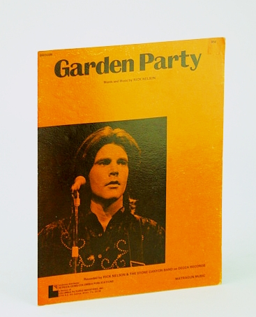 Image for Garden Party: Sheet Music for Piano and Voice with Guitar Chords