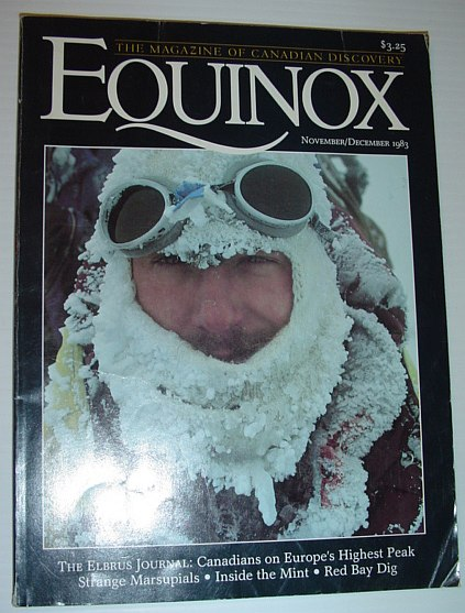 Image for Equinox - The Magazine of Canadian Discovery: November/December 1983