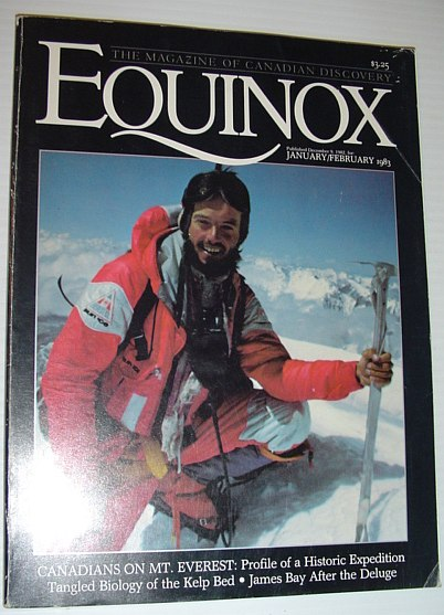 Image for Equinox - The Magazine of Canadian Discovery: January/February 1983
