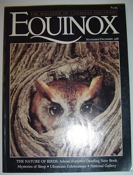 Image for Equinox - The Magazine of Canadian Discovery: November/December 1988