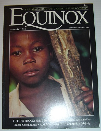 Image for Equinox - The Magazine of Canadian Discovery: September/October 1991