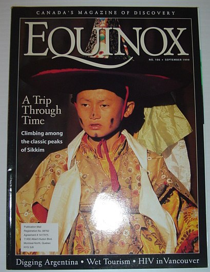 Image for Equinox - The Magazine of Canadian Discovery: September 1999