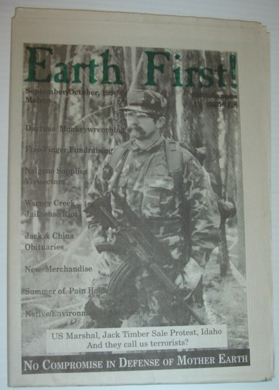 Image for Earth First! - The Radical Environmental Journal: 21 September 1996