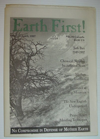 Image for Earth First! - The Radical Environmental Journal: March 20, 1997