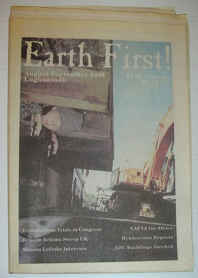 Image for Earth First! - The Radical Environmental Journal: August-September 1998