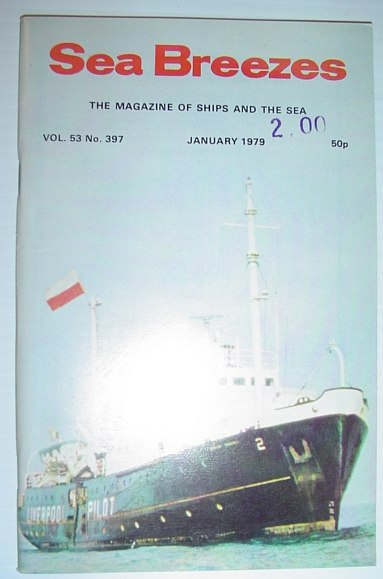 Image for Sea Breezes - The Magazine of Ships and the Sea: January 1979