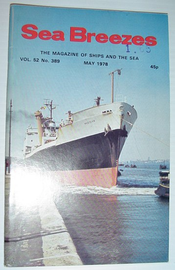 Image for Sea Breezes - The Magazine of Ships and the Sea: May 1978