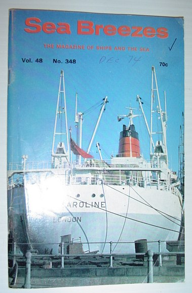Image for Sea Breezes - The Magazine of Ships and the Sea: December 1974